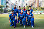 Players of The Dragons Team pose for a photo during Day 2 of Hong Kong Cricket World Sixes 2017 match between Hong Kong Women's Team vs The Dragons Team at Kowloon Cricket Club on 29 October 2017, in Hong Kong, China. Photo by Yu Chun Christopher Wong / Power Sport Images