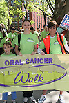 Daughter Kelsey and friend India join As The World Turns' Colleen Zenk Pinter who is the national spokesperson for heightened public awareness of oral cancer attends and is the speaker at the 5th Annual Oral Cancer Walk on April 23, 2010 at Jackie Robinson Park, Harlem, New York. (Photo by Sue Coflin/Max Photos)