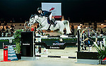 Maikel van der Vleuten of Netherlands riding VDL Groep Eureka  in action at the Massimo Dutti Trophy during the Longines Hong Kong Masters 2015 at the AsiaWorld Expo on 15 February 2015 in Hong Kong, China. Photo by Xaume OIleros / Power Sport Images