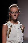 02.09.2012. Models walk the runway in the Kina Fernandez fashion show during the Mercedes-Benz Fashion Week Madrid Spring/Summer 2013 at Ifema. (Alterphotos/Marta Gonzalez)