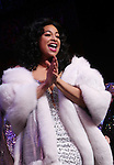 Raven-Symone takes her first Broadway Bow in 'Sister Act' at the Broadway Theatre in New York City on 3/27/2012.