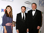 LOS ANGELES, CA. - January 24: Actress Natalie Portman, Producer Jeff Skoll and Former Vice-President of the United States Al Gore arrive at the 20th Annual Producer's Guild Awards at the The Hollywood Palladium on January 24, 2009 in Los Angeles, California.