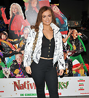 Maisie Smith at the &quot;Nativity Rocks!&quot; gala film screening, Vue West End, Leicester Square, London, England, UK, on Sunday 04 November 2018.<br /> CAP/CAN<br /> &copy;CAN/Capital Pictures