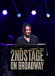 Lynne Nottage during the Second Stage Theater Broadway lights up the Hayes Theatre at the Hayes Theartre on February 5, 2018 in New York City.