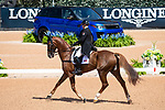 Lisa Marie Fergusson. Honor Me. CAN. Eventing Dressage. Day 3. World Equestrian Games. WEG 2018 Tryon. North Carolina. USA. 13/09/2018. ~ MANDATORY Credit Elli Birch/Sportinpictures - NO UNAUTHORISED USE - 07837 394578