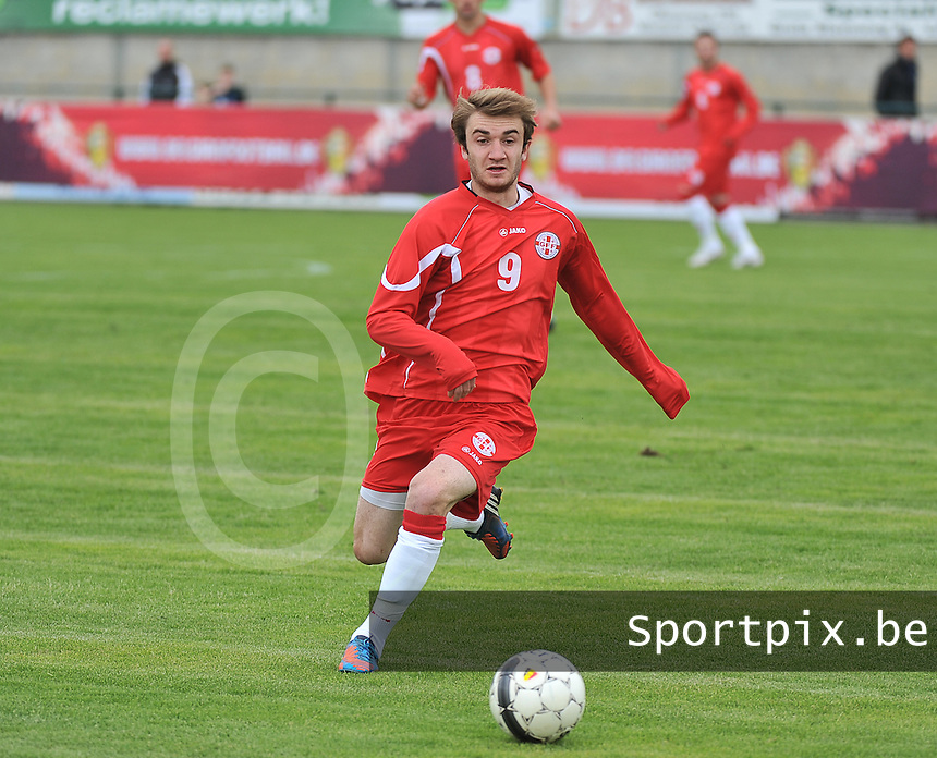 Scotland U19 - Georgia U19 : Teimurazi Markozashvili.foto DAVID CATRY / Nikonpro.be