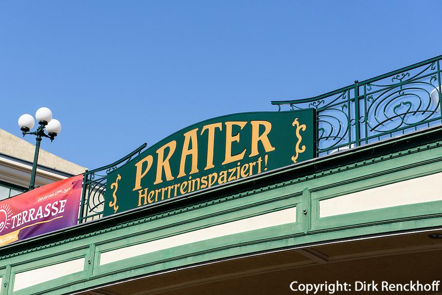 im Vergn&uuml;gungspark Prater, Wien, &Ouml;sterreich<br /> at amusementpark Prater, Vienna, Austria