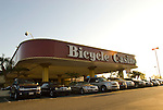 Exterior of Bicycle Casino