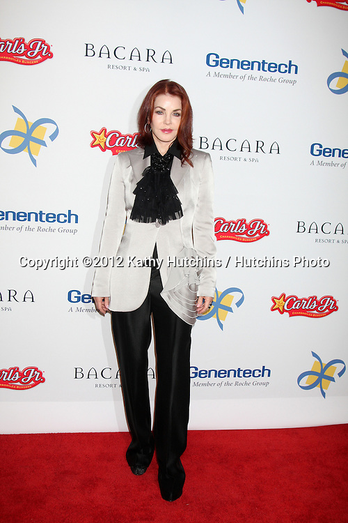 LOS ANGELES - NOV 16:  Priscilla Presley arrives for the 11th Annual Celebration of Dreams at Bacara Resort & Spa on November 16, 2012 in Santa Barbara, CA.  Katy Perry and Nigel Lithgoe are being honored with the Founder's.Humanitarian Award as part of Dream Foundation's Celebration of Dreams gala.at the Bacara Resort in Santa Barbara. Dream Foundation is a national.organization that serves the final wishes of adults ? and their families ?.facing life-threatening illness.