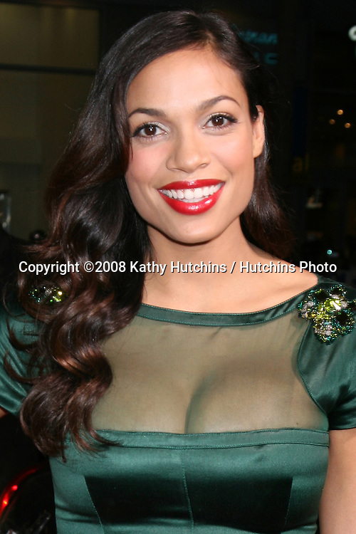 """Rosario Dawson arriving at the premiere of """"Eagle Eye"""" at Mann's Chinese Theater in Los Angeles ,CA on.September 16, 2008.©2008 Kathy Hutchins / Hutchins Photo...."""