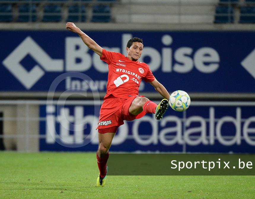 AA Gent - KV Kortrijk : Mustapha Oussalah<br /> foto VDB / Bart Vandenbroucke