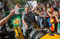 Catalonia farmers & students demo 29-9-17