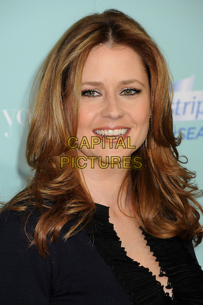 "JENNA FISCHER .""He's Just Not That Into You"" Los Angeles Premiere at Grauman's Chinese Theatre, Hollywood, CA, USA, .02 February 2009.portrait headshot black.CAP/ADM/BP.©Byron Purvis/Admedia/Capital PIctures"