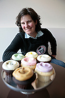 04222010-  Cupcake Royale, Seattle University Alum Jody Hall, 1988 Albers graduate, Seattle University Magazine cover story
