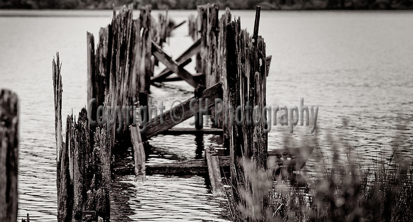 Old Wharf, West Pillinger, Tasmania.Photo: SH Photography Simon Hodgson..Conditions of Use  this image is intended for editorial use only (print or electronic). Any further use requires additional clearance. Photo: SH Photography Simon Hodgson