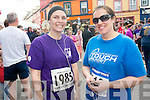 Getting ready for the Jack and Jill run in Kenmare on Saturday were Kathryn O'Sullivan and?