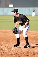 Brandon Belt - Scottsdale Scorpions - 2010 Arizona Fall League.Photo by:  Bill Mitchell/Four Seam Images..