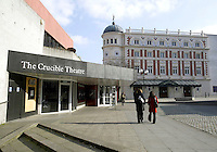 The Crucible and Lyceum Theatres in Sheffield City centre