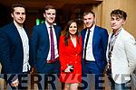 Brian Reidy, Philip O'Connor, Aileen O'Sullivan, Sean Óg  Ó Ciardubháin and Gary O'Leary, enjoying the Cordal GAA social at Ballygarry House Hotel & Spa, Tralee, on Saturday night last.