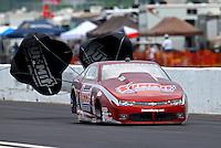 May 1, 2016; Baytown, TX, USA; NHRA pro stock driver Greg Anderson during the Spring Nationals at Royal Purple Raceway. Mandatory Credit: Mark J. Rebilas-USA TODAY Sports