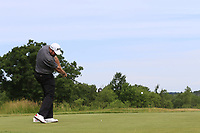 Shane Lowry (IRL) tees off the 4th tee during Friday's Round 2 of the 117th U.S. Open Championship 2017 held at Erin Hills, Erin, Wisconsin, USA. 16th June 2017.<br /> Picture: Eoin Clarke | Golffile<br /> <br /> <br /> All photos usage must carry mandatory copyright credit (&copy; Golffile | Eoin Clarke)