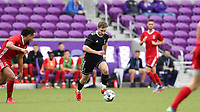 Orlando, Florida - Saturday January 13, 2018: Jon Gallagher. Match Day 1 of the 2018 adidas MLS Player Combine was held Orlando City Stadium.