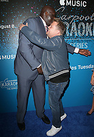 07 August 2017 - West Hollywood, California - Shaquille O'Neal, James Corden. 'Carpool Karaoke: The Series' On Apple Music Launch Party held at Chateau Marmont. <br /> CAP/ADM/FS<br /> &copy;FS/ADM/Capital Pictures