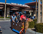 """World of Beer inaugural """"Beer Box Derby"""" held at the entrance to the World of Beer in the Galleria Mall in Henderson Nevada to benefit  Nevada Pet Rescue adoptions"""