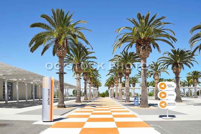Palm Court at Orange County's Great Park Irvine