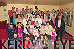 BABY: Baby Caoimhe Nolan who was christened in St Mary's Church Kilflynn on Sunday and afterward her parents Kenneth and Margaret Nolan from Kilflynn held the christening celebration in Parkers Bar, Kilflynn with family and friends...