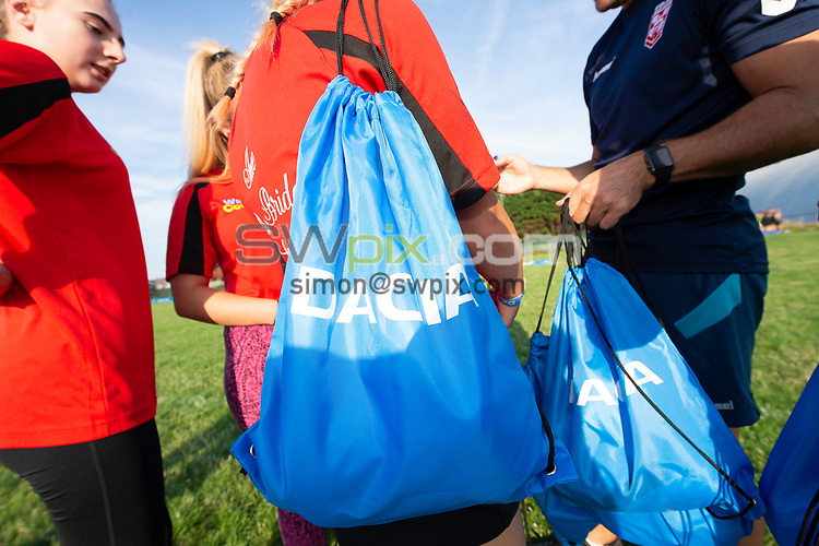 Picture by Allan McKenzie/SWpix.com - 25/07/2018 - Rugby League - Dacia Flair Play - New Spring Lions & Ince Rose Bridge RLFC, Ince-in-Makerfield, England - Dacia awards, goody bags.