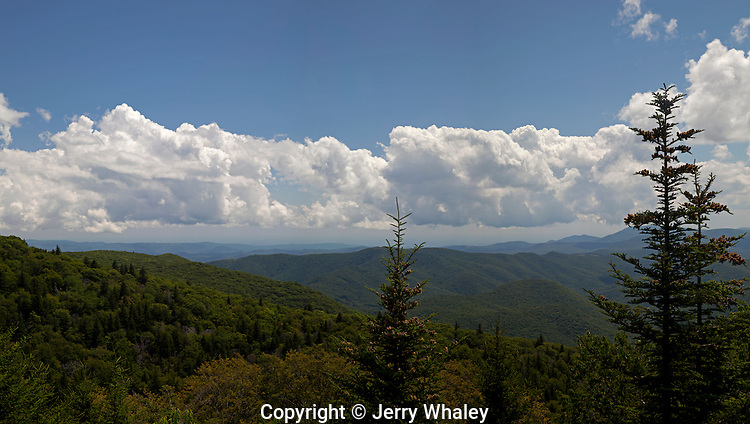 Blue Ridge Parkway, Panorama