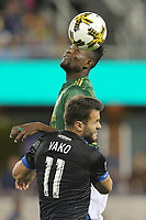 "San Jose, CA - Saturday September 30, 2017: Valeri Qazaishvili ""Vako"" during a Major League Soccer (MLS) match between the San Jose Earthquakes and the Portland Timbers at Avaya Stadium."