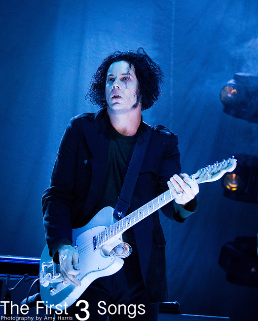Jack White performs at the LC Pavilion in Columbus, Ohio