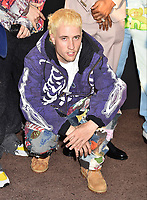 """SANTA MONICA, CA - AUGUST 27: White Trash Tyler attends the Travis Scott: """"Look Mom I Can Fly"""" Los Angeles Premiere at The Barker Hanger on August 27, 2019 in Santa Monica, California.<br /> CAP/ROT/TM<br /> ©TM/ROT/Capital Pictures"""