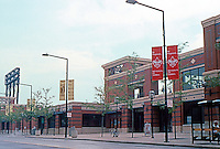 Ballparks: Akron, OH. Canal Park, home of the Akron Aeros, Eastern League. Opened 1997.