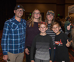 "The Buck Family attend the screening of Warren Miller's film ""Line of Descent"" at the Reno Ballroom on Saturday, Nov. 4, 2017 in downtown Reno."