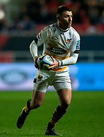 Wasps' Willie Le Roux<br /> <br /> Photographer Bob Bradford/CameraSport<br /> <br /> Gallagher Premiership - Bristol Bears v Wasps - Friday 15th February 2019 - Ashton Gate - Bristol<br /> <br /> World Copyright © 2019 CameraSport. All rights reserved. 43 Linden Ave. Countesthorpe. Leicester. England. LE8 5PG - Tel: +44 (0) 116 277 4147 - admin@camerasport.com - www.camerasport.com