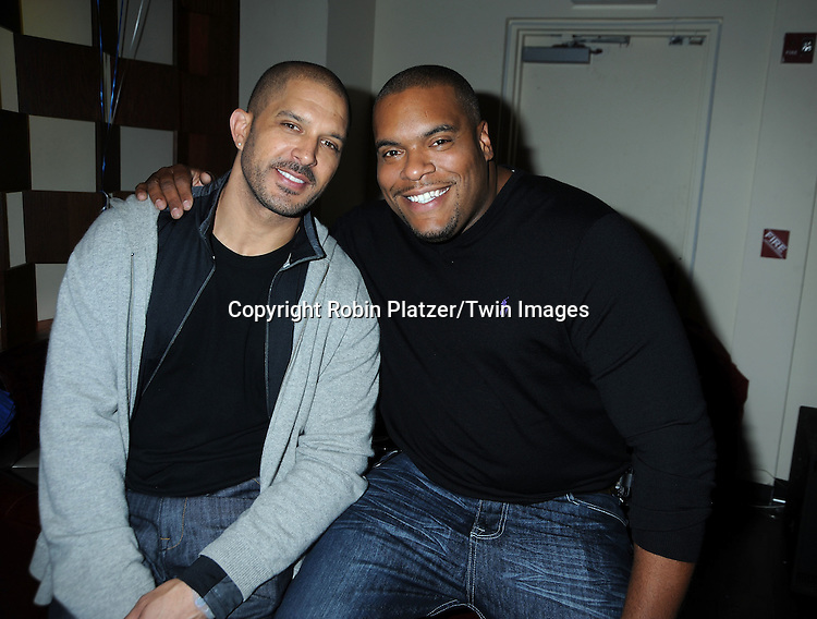 Terrell Tilford and Sean Ringgold attending the 7th Annual Daytime Stars and Strikes Bowling Event on October 10, 2010 at Leisure Time Bowling Facility in New York City. The event benefited The American Cancer Society.