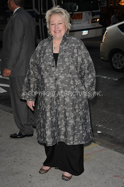 WWW.ACEPIXS.COM . . . . . ....June 16 2009, New York City....Actress Kathy Bates at a screening of 'Cheri' at the Directors Guild of America Theater on June 16, 2009 in New York City.....Please byline: KRISTIN CALLAHAN - ACEPIXS.COM.. . . . . . ..Ace Pictures, Inc:  ..tel: (212) 243 8787 or (646) 769 0430..e-mail: info@acepixs.com..web: http://www.acepixs.com