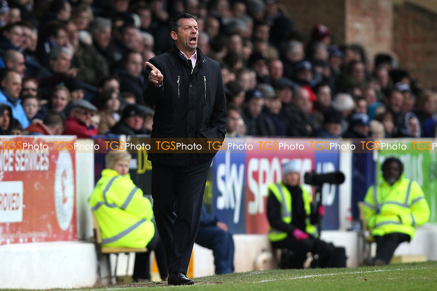 Southend United manager Phil Brown - Southend United vs Cambridge United - Sky Bet League Two Football at Roots Hall, Southend-on-Sea, Essex - 21/03/15 - MANDATORY CREDIT: Gavin Ellis/TGSPHOTO - Self billing applies where appropriate - contact@tgsphoto.co.uk - NO UNPAID USE