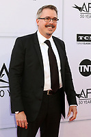 LOS ANGELES - JUN 8:  Vince Gilligan at the American Film Institute's Lifetime Achievement Award to Diane Keaton at the Dolby Theater on June 8, 2017 in Los Angeles, CA