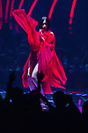 June 23, 2012, Chiba, Japan - A member of Perfume performs on stage during the MTV Video Music Awards Japan event. (Photo by Christopher Jue/AFLO)