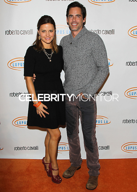 BEVERLY HILLS, CA, USA - NOVEMBER 21: Erin Banks, Adam Kaufman arrives at the 12th Annual Lupus LA Hollywood Bag Ladies Luncheon held at The Beverly Hilton Hotel on November 21, 2014 in Beverly Hills, California, United States. (Photo by Celebrity Monitor)