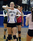 Auburn Hills Oakland Christian vs Beal City, Varsity Volleyball, 11/22/13