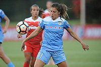 Boyds, MD -Saturday August 26, 2017: Sofia Huerta during a regular season National Women's Soccer League (NWSL) match between the Washington Spirit and the Chicago Red Stars at Maureen Hendricks Field, Maryland SoccerPlex.