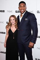 Geri Horner and Anthony Joshua<br /> at the Glamour Women of the Year Awards 2017, Berkeley Square, London. <br /> <br /> <br /> ©Ash Knotek  D3274  06/06/2017