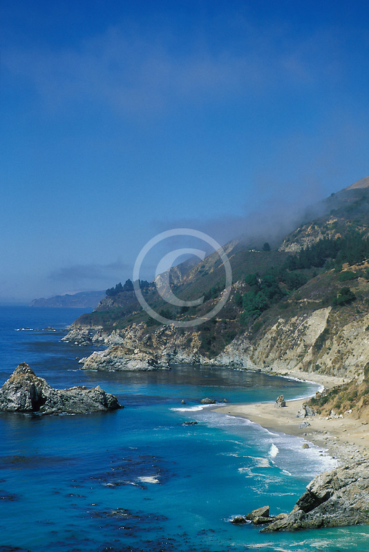 California, Big Sur, Pacific Ocean coastline