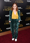 HOLLYWOOD, CA - JULY 27:  Actress Elise Eberle arrives at the Premiere Of Amazon Studios' 'The Last Tycoon' at the Harmony Gold Preview House and Theater on July 27, 2017 in Hollywood, California.