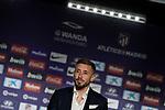 Atletico de Madrid's new player Hector Herrera during his official presentation. July 4, 2019. (ALTERPHOTOS/Acero)